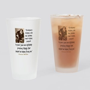 OSCAR WILDE QUOTE Drinking Glass