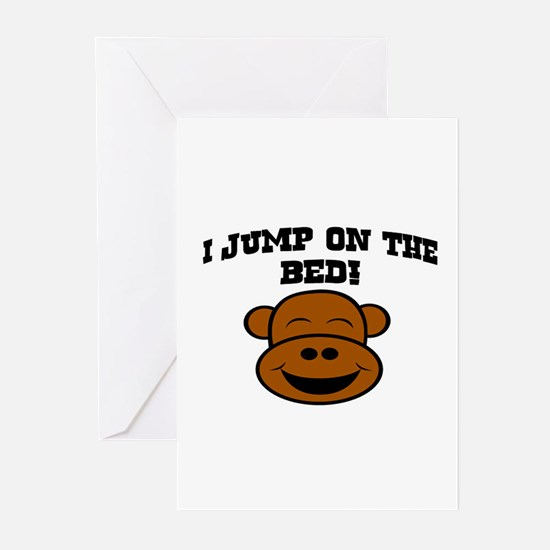 I JUMP ON THE BED! Greeting Cards (Pk of 20)