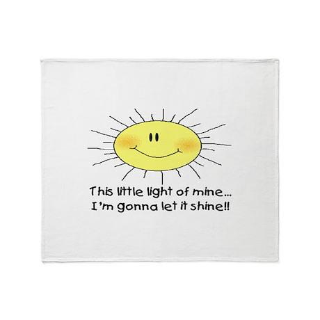 LIGHT OF MINE Throw Blanket