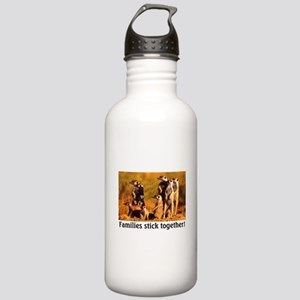 FAMILIES STICK TOGETHER Stainless Water Bottle 1.0