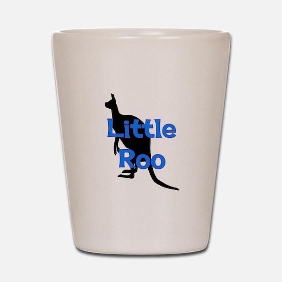 LITTLE ROO (BLUE) Shot Glass