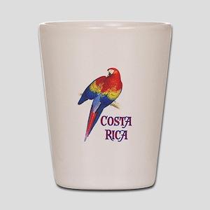 COSTA RICA II Shot Glass