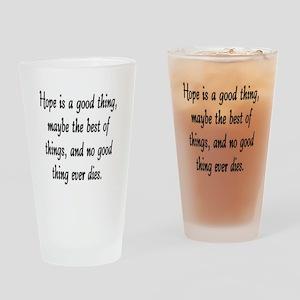 HOPE... Drinking Glass
