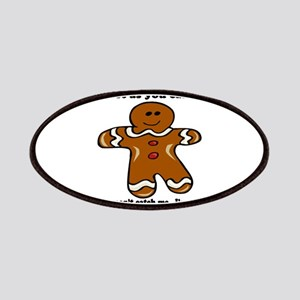 GINGERBREAD MAN! Patches