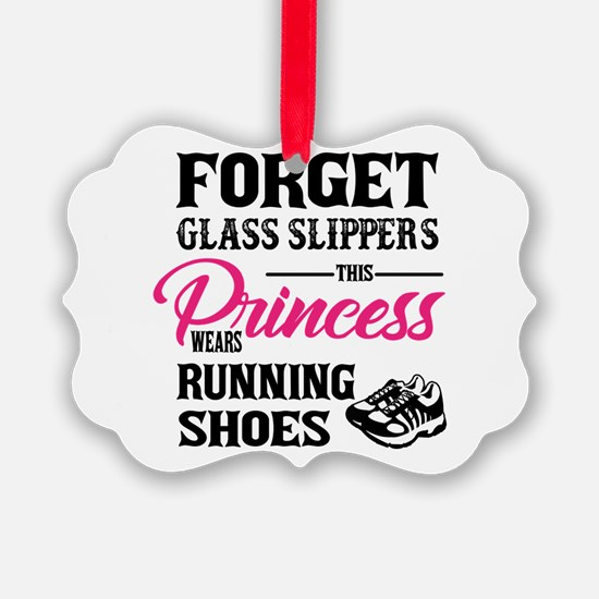 This Princess Wears Running Shoes Ornament
