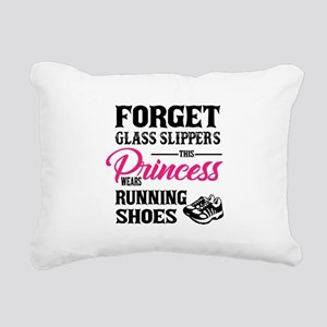 This Princess Wears Runn Rectangular Canvas Pillow