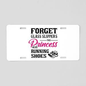 This Princess Wears Running Aluminum License Plate