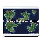 GGC Crono's World Map Mousepad