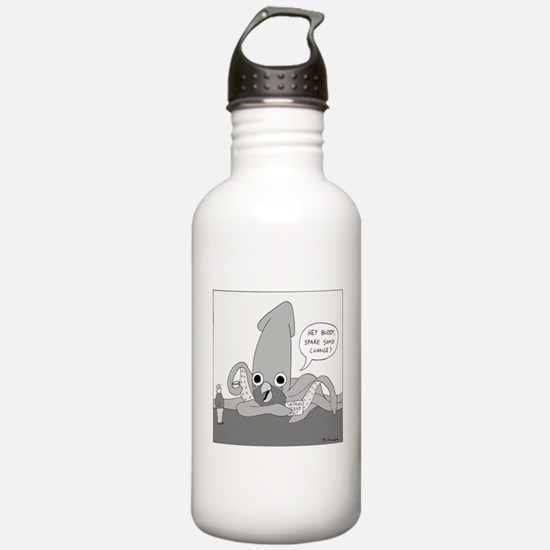 The Cracken (no text) Water Bottle