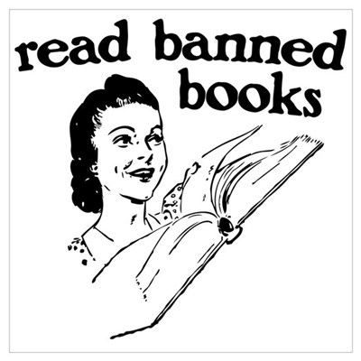 Read Banned Books Poster
