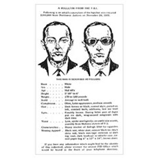 D.B. Cooper Wanted Framed Print