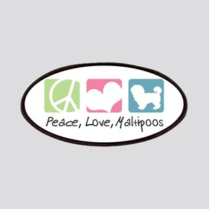 Peace, Love, Maltipoos Patches