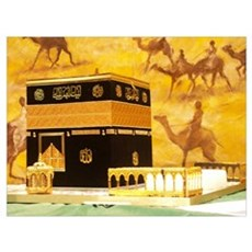 Kaabah Canvas Art