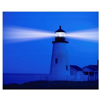 Pemiquid Lighthouse Poster