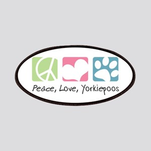 Peace, Love, Yorkiepoos Patches