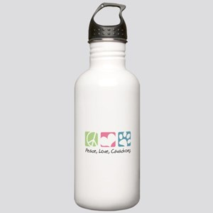 Peace, Love, Cavachons Stainless Water Bottle 1.0L