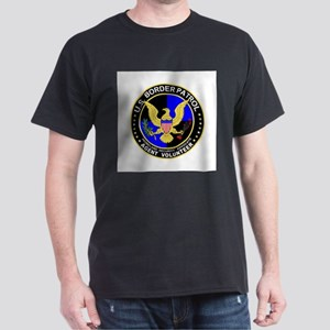 US Border Patrol  Black T-Shirt