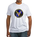 US Border Patrol Fitted T-Shirt