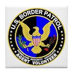 US Border Patrol Tile Coaster
