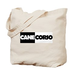 Cane Corso B&W Tote Bag