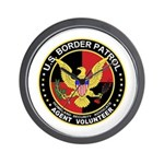 US Border Patrol  Wall Clock