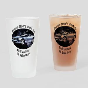 Chrysler Crossfire Roadster Drinking Glass