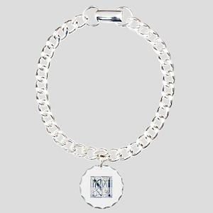 Monogram-MacKenzie dress Charm Bracelet, One Charm