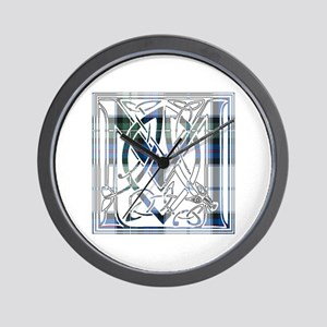 Monogram-MacKenzie dress Wall Clock