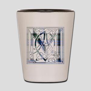 Monogram-MacKenzie dress Shot Glass