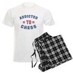 Addicted to Chess Men's Light Pajamas