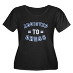 Addicted to Chess Women's Plus Size Scoop Neck Dar