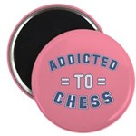 Addicted to Chess Magnet