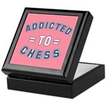Addicted to Chess Keepsake Box