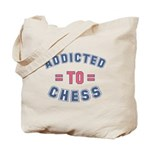 Addicted to Chess Tote Bag