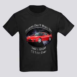 Mazda RX-7 Kids Dark T-Shirt