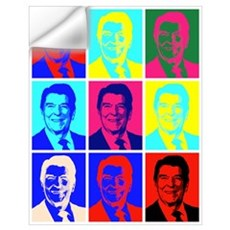Reagan Portraits Wall Decal