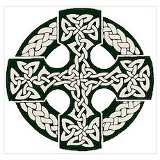 Celtic Cross Poster