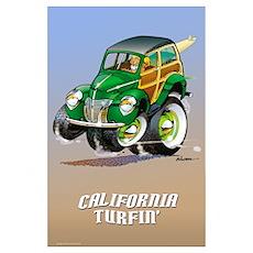 Surfin n Turfin Poster