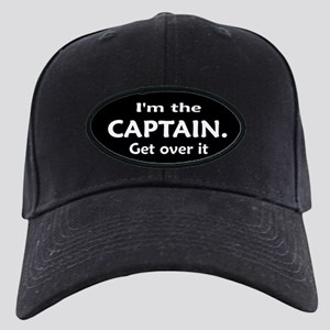 I'M THE CAPTAIN. GET OVER IT Black Cap