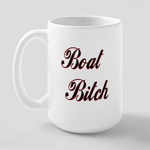 BOAT BITCH Large Mug