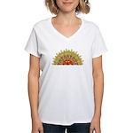 Celtic Dawn Women's V-Neck T-Shirt