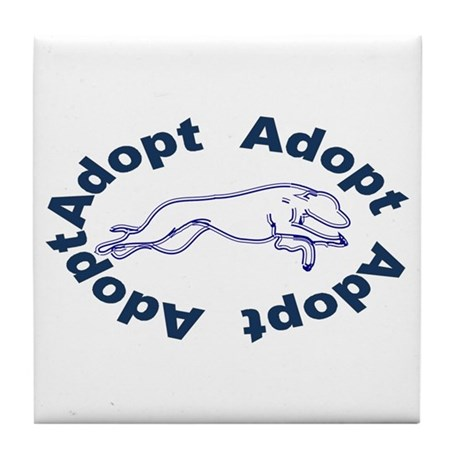 Adopt V2.0 Blue Tile Coaster