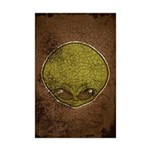 The Visitor (Green) (Distressed) Mini Poster Print