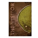 The Visitor (Green) (Distressed) Postcards (Packag