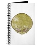 The Visitor (Green) (Distressed) Journal