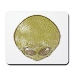 The Visitor (Green) (Distressed) Mousepad
