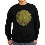The Visitor (Green) (Distressed) Sweatshirt (dark)
