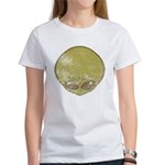 The Visitor (Green) (Distressed) Women's T-Shirt