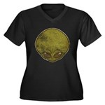 The Visitor (Green) (Distressed) Women's Plus Size