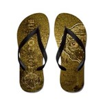 The Zombie (Distressed) Flip Flops